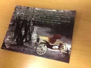 mier car postcard